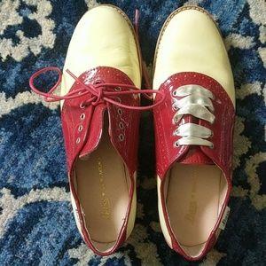 """Bass """"Odette"""" saddle shoes"""